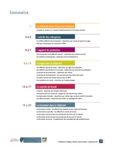 Tableau de bord Emploi-Formation du Bâtiment en Bretagne - Septembre 2019